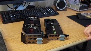 ASUS GTX 680 DirectCU II Top 2GB Video Card Unboxing & Reference Comparison