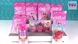 Pucker Pops Limited Edition Mystery Blind Bags Lip Gloss Opening | PSToyReviews