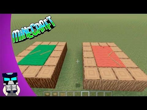Como hacer una mesa de billar en Minecraft Tutorial en español DECORACION