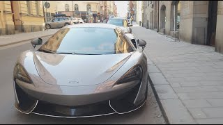 😁570 HP McLaren 570S MSO or 580 HP Porsche 911 Turbo S Mk II 991? Todays spot in Stockholm  [4k60p]