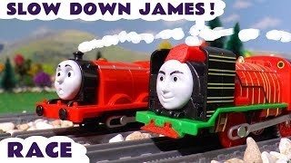 Thomas & Friends Episode with James racing Big World Big Adventures Yong Bao toy train TT4U