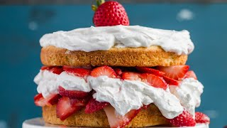THE BEST LOW CARB KETO STRAWBERRY SHORTCAKE RECIPE | Easy Keto Dessert You Can Prep Ahead
