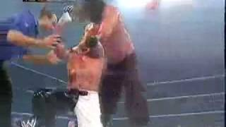 The Great Khali Vs Poor Rey Mysterio(Finlay and Batista Interrupt).mp4