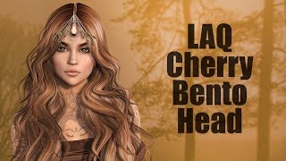 LAQ Cherry Bento Mesh Head in Second Life