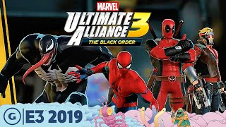 Marvel Ultimate Alliance 3 Live Gameplay Demo | E3 2019