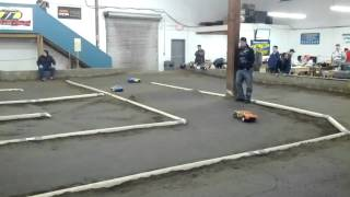 Tacoma R/C Raceway - 9 yr old, 1st Stock SC-10 Race - Takes 4th