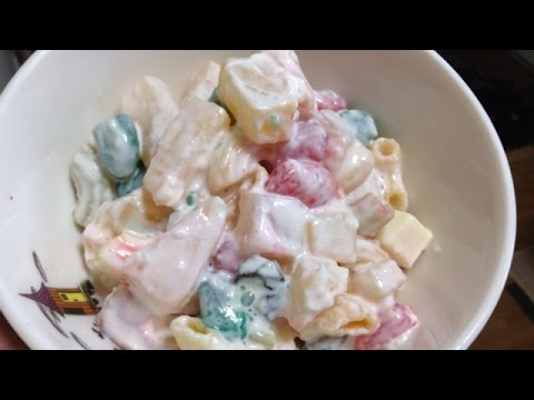 How To Prepare Easy Macaroni Fruit Salad - DIY Food & Drinks Tutorial - Guidecentral