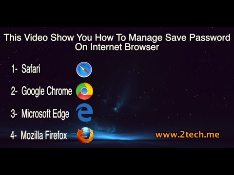 How to Show and Manage Save Password on Internet Browser