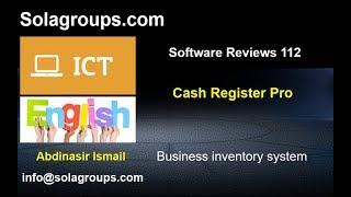 Software Reviews 112 Cash register Pro