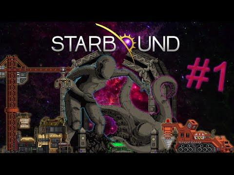 Выживание в Starbound 1.0.5 - Новый мир и новые возможности #1