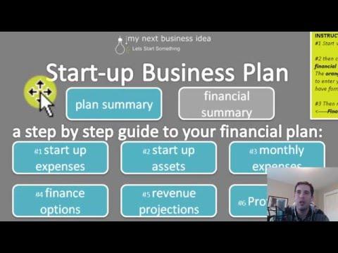 starting business plan