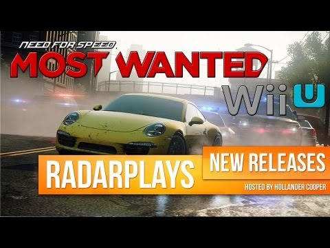 RadarPlays - Need for Speed: Most Wanted Wii U