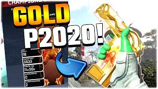 POPPIN' OFF With a GOLD P2020!! (Apex Legends PS4)