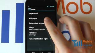 How To Set/Change Font/Text Size - Samsung Galaxy Nexus
