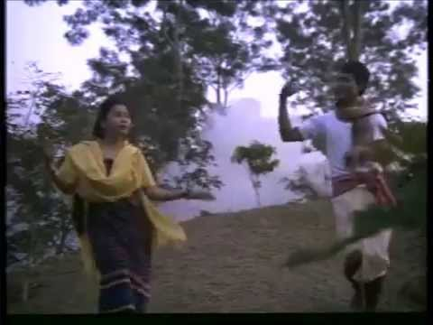 Tripura's First Kokborok Feature Film:langmani Haduk(1993)- Song-1 video