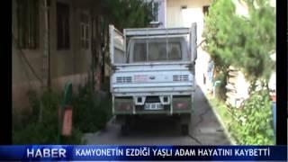 Kamyonetin �arpt��� ya�l� adam hayat�n� kaybetti ! (V�DEO)