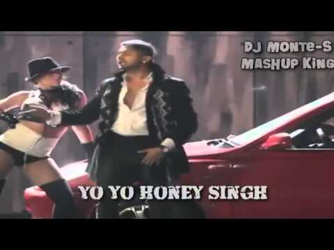 DJ Monte-S - Rappers Mashup Bohemia Honey Singh 50 Cent 2Pac...
