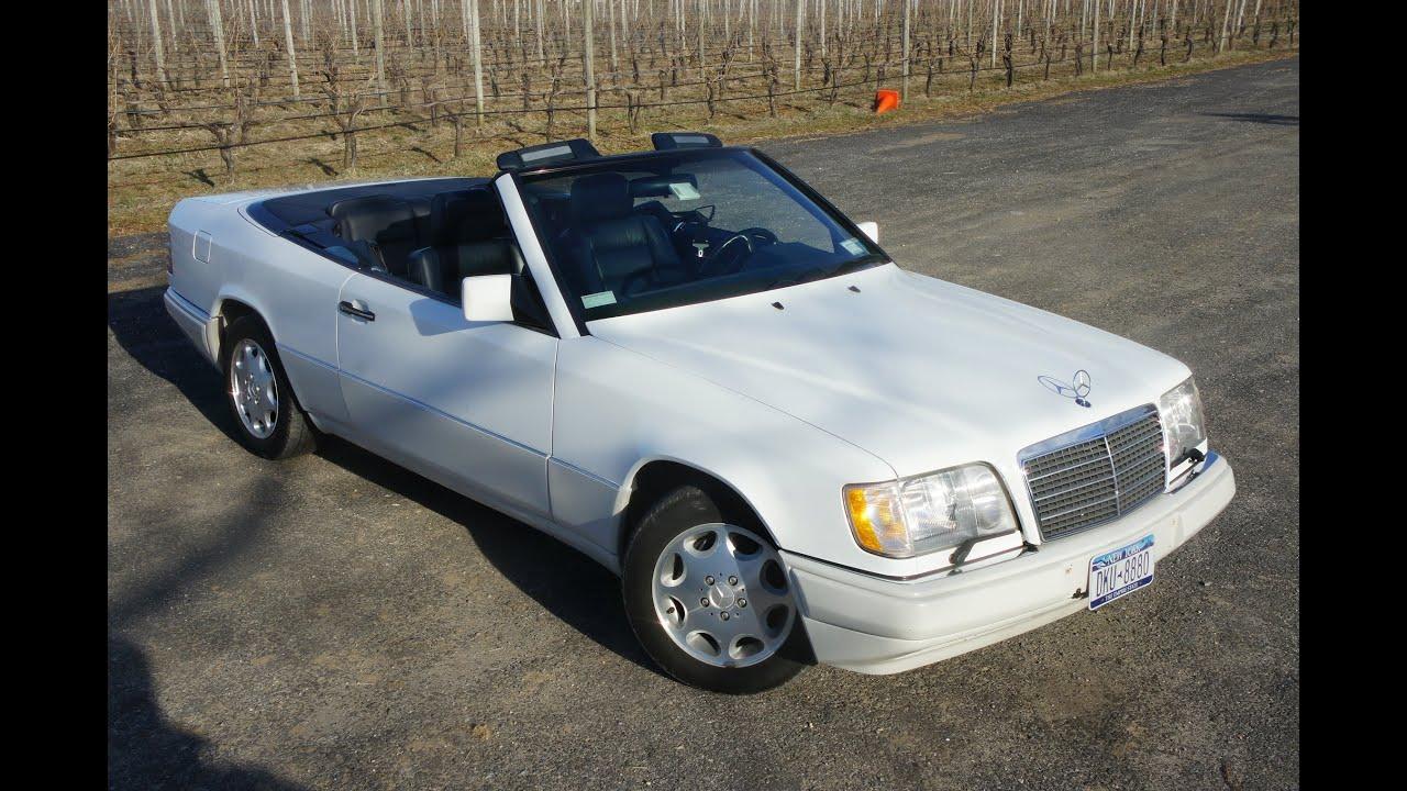 1995 mercedes benz e320 cabriolet for sale white blue low for 1995 mercedes benz e320 for sale
