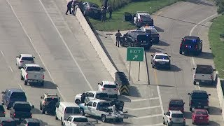 Woman in Chevy Impala vs Police! High Speed Chase Ends in Crash