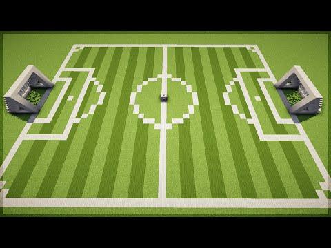 Minecraft: Como construir um Campo de Futebol