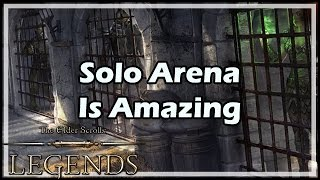 [Elder Scrolls: Legends] Solo Arena Is Amazing