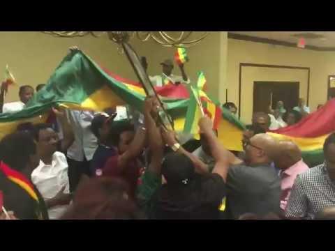 Ethiopia - When Oromo Protest Meets Gondar Protest Dallas (Ethiopians In Dallas)