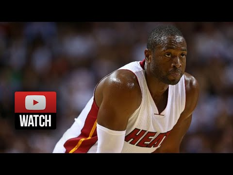 Dwyane Wade Full Highlights vs Wizards (2014.10.29) - 21 Pts, Clutch!