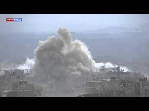 شاهد الصاروخ السوري المرعب منذ لحظة اطلاقه