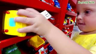 Baby Playing in Store Toy Cars - Kayleigh Kirk