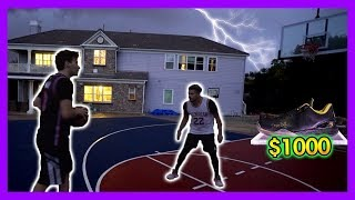 IRL BASKETBALL 1V1 JESSER FOR $1000 AUTOGRAPH SHOE !!