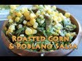 Chipotle's Chili-Corn Salsa - Roasted Poblano…