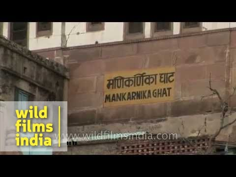 Manikarnika Ghat of Varanasi - Uttar Pradesh
