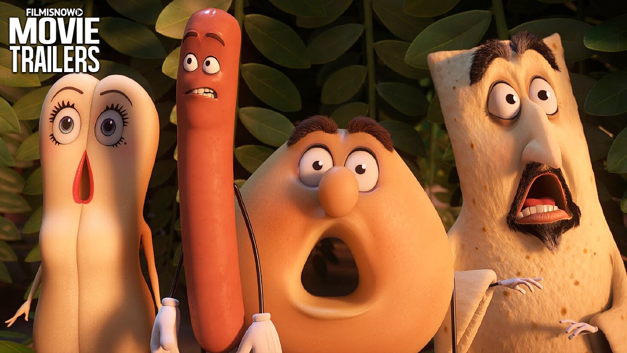 "You're all invited to the ""SAUSAGE PARTY"" 