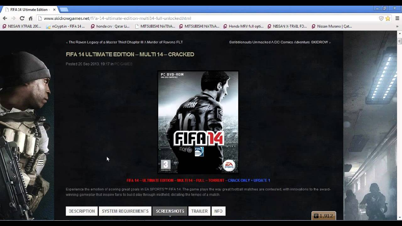 Download Fifa 14 Crack Only V5 Final 3dm Torrent. . Size: 39. . Torrents