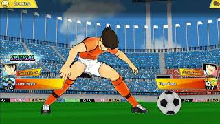 Captain Tsubasa Dream Team PvP online mood VS the new Salinas Brazilian keeper