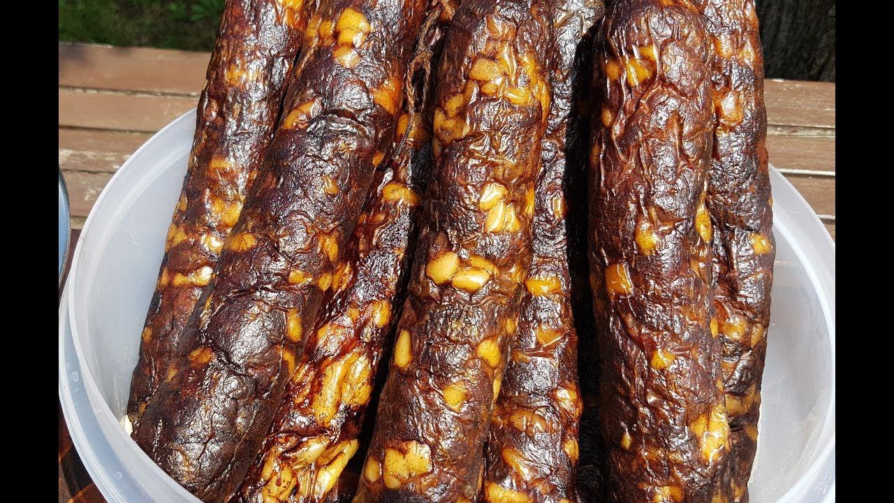 Колбаса горячего копчения в домашних условиях рецепт с фото 643