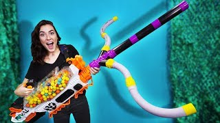 NERF DIY Build Your Weapon Challenge!