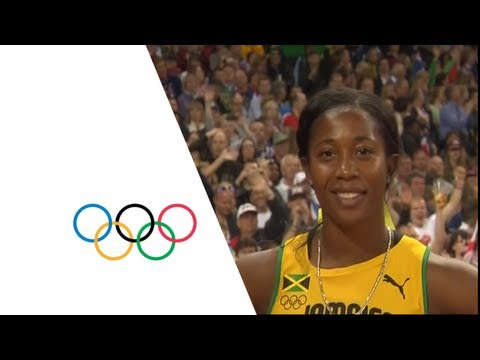Athletics Women's 100m Final - Full Replay -- London 2012 Olympic Games