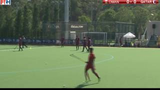 2016 Men Hockey World League Round 1 Antalya (OMAN VS QATAR)