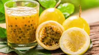How to make passion fruit juice  | Health benefits of passion fruit | Antioxidants rich fruit |