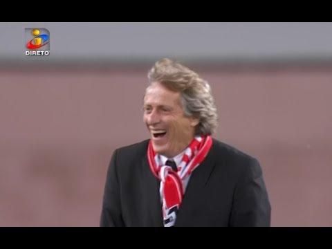Épica reação de Jorge Jesus e o Falhanço de Lima - Benfica 2-0 Rio Ave