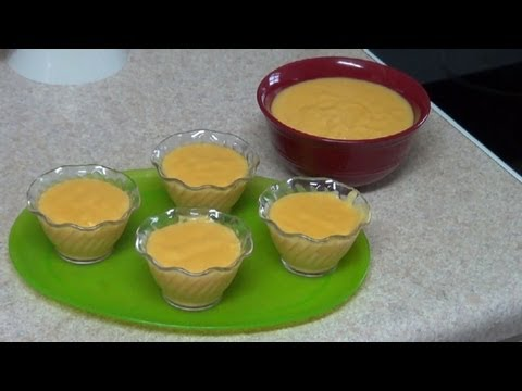 Pumpkin Custard – How to make a Pumpkin Custard – PekisKitchen