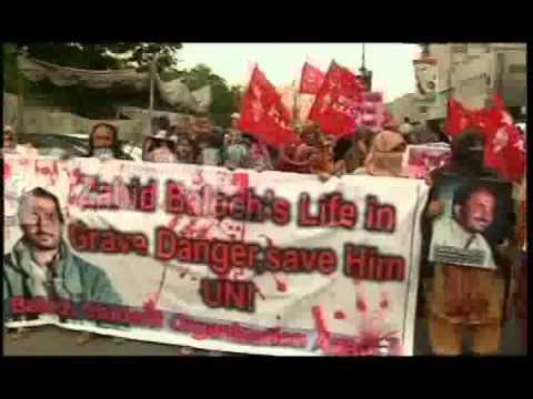 Baloch women on road for freedom of Balochistan