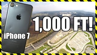 iPhone 7 Drop Test - From 1,000 FEET!! DON'T TRY THIS