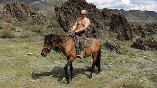 All-action Putin: il Presidente russo che guida e fa cose vigorose
