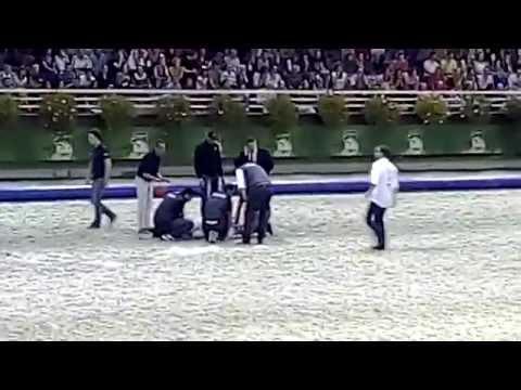 Horse-ball aux JEM: chute spectaculaire à Saint-Lô