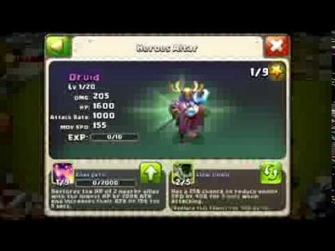 Castle Clash I Bought A Druid! Shard Hero! 100 views