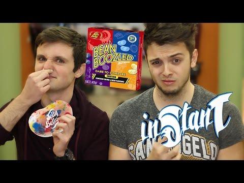 Bean Boozled Challenge! (Гнусните бонбони) ft. FlapaBoom