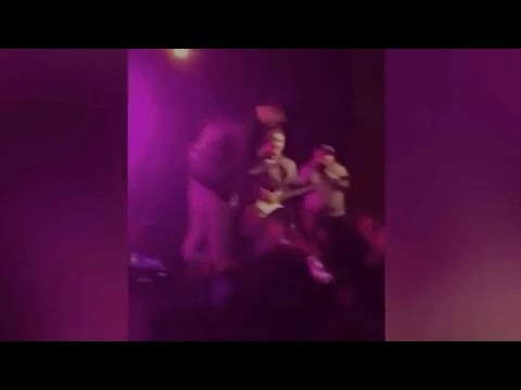 Pop Star Rescues Woman Being Molested In Concert (VIDEO)