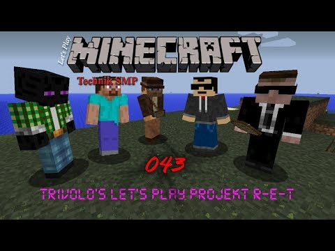 Let's Play Minecraft Technik SMP - Projekt RET 43 Rock Crusher [HD]+[deutsch] thumbnail